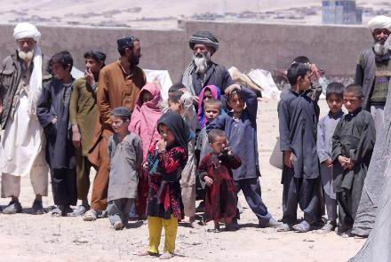 3.5m Afghans displaced since
