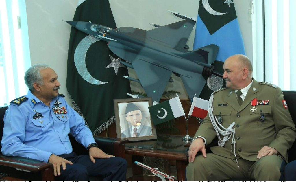 Commander Polish Armed Forces calls on Air Chief
