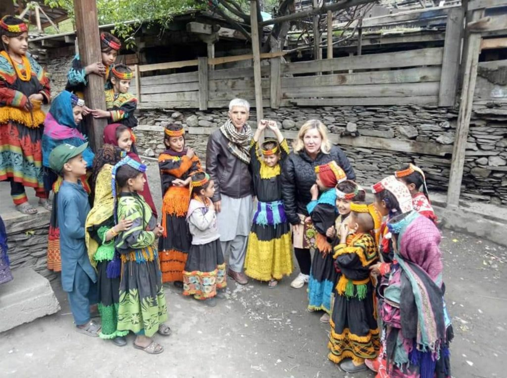 Foreign tourists continue to throng Kalash valley