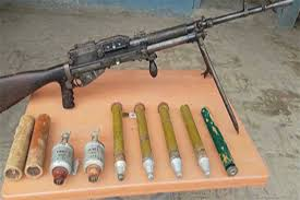 Police recovers cache of arms, explosives materials in Parachinar