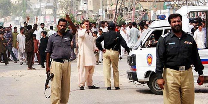 Karachi Two policemen killed in armed attack
