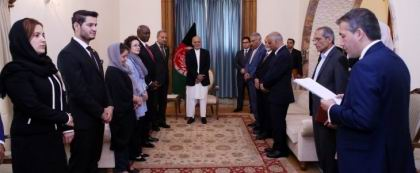 President confers High State Medal on WB former Director to Afghanistan