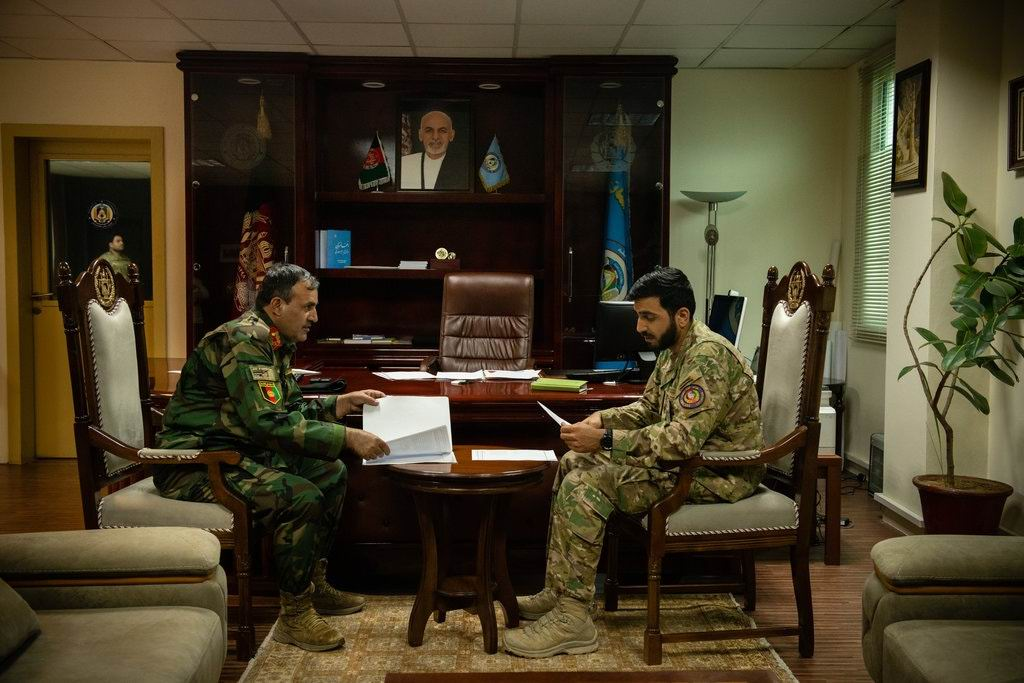 Young afghan General tries to reform police with American way of war