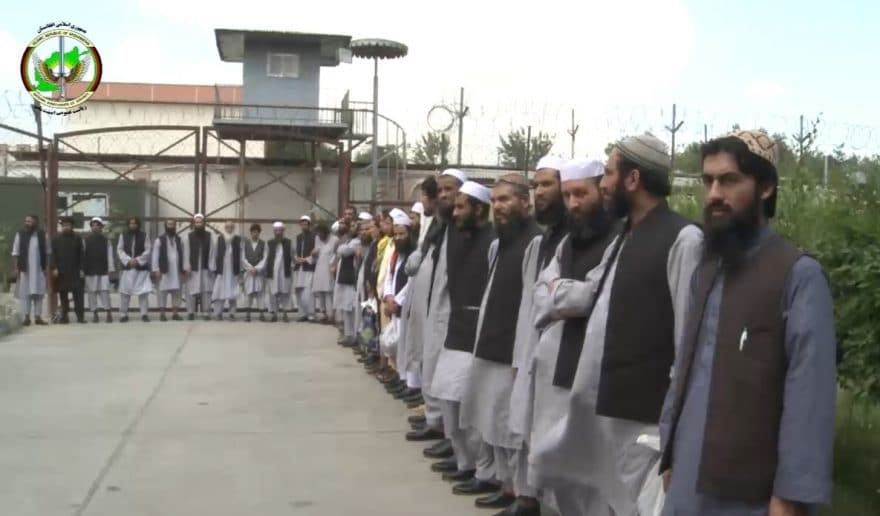 Ghani frees 35 Taliban inmates from NDS prison