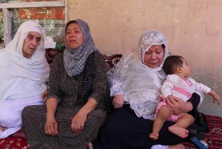Mother slams Taliban as she loses two daughters in Kabul attack