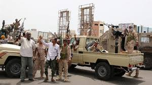 Yemen rebels shell govt camp near Saudi border