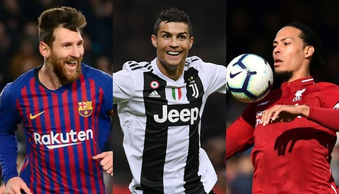 buy online 56ecd 66d31 Van Dijk, Ronaldo and Messi shortlisted for FIFA award - The ...