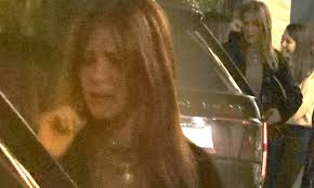Jennifer Aniston breaks down as she bids adieu to her friends in LA