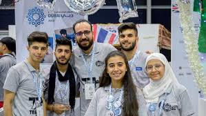Team of Syrian refugees wins world's biggest robotics event