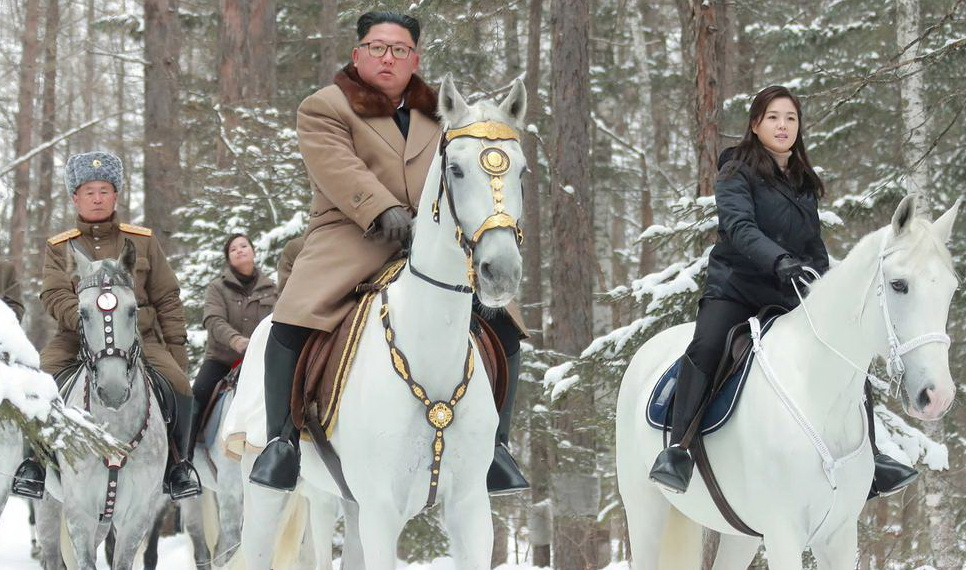 SEOUL North Korea's leader Kim Jong Un mounted a white horse again as North Korea announced on Wednesday it will soon convene a rare meeting of the ruling party's leaders.