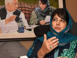 Detained Mehbooba shifted to her residence