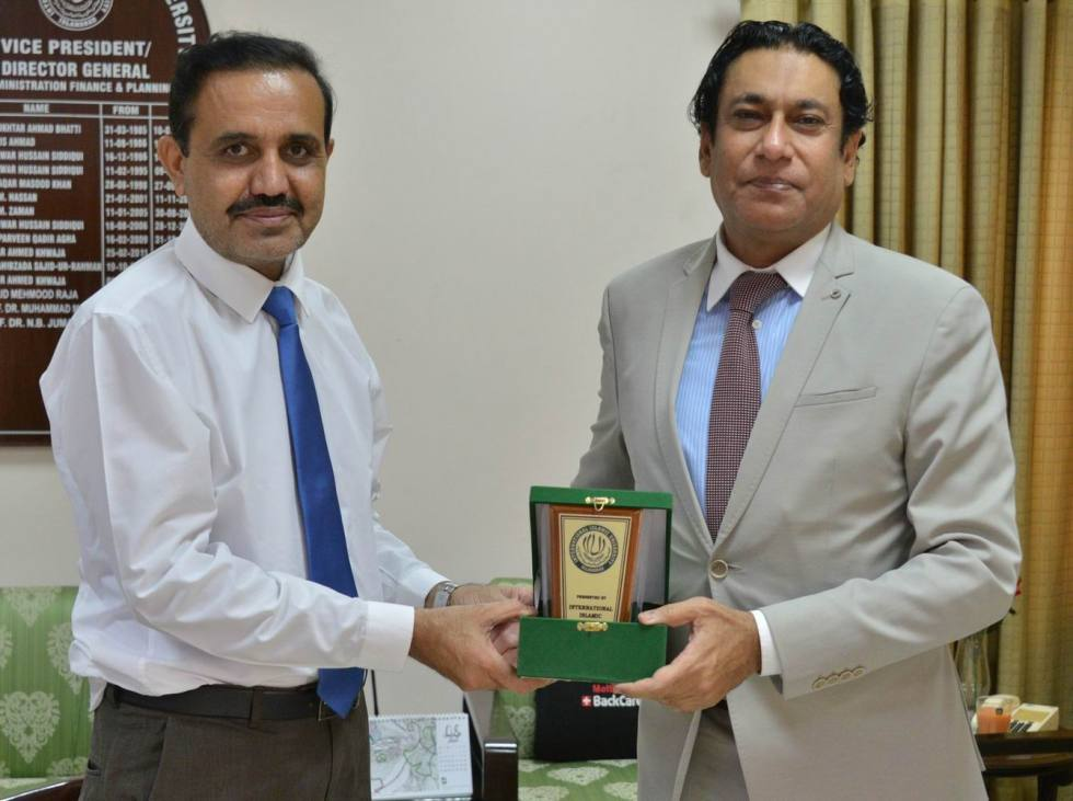 Counsel General hails IIUI's achievements