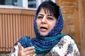 Mehbooba Mufti accuses India of heightening security to hide people's anger and frustration
