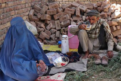Flood-hit Parwan story picture
