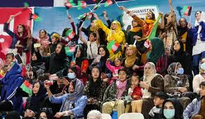 Afghan football fans call for peace in country