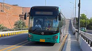 BRT bus service restored after a month in Peshawar