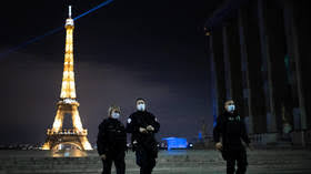 Go home to your own country Two women arrested for apparent racially aggravated knife attack near Paris' Eiffel Tower