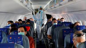 Study claims low risk of Covid infection on planes if masks worn