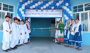 Supported by Korea, UNHCR construct two schools in Herat