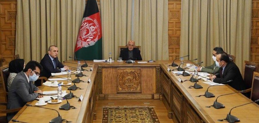Ghani instructs