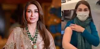 Veteran actress Reema Khan receives first COVID-19 vaccine dose in US