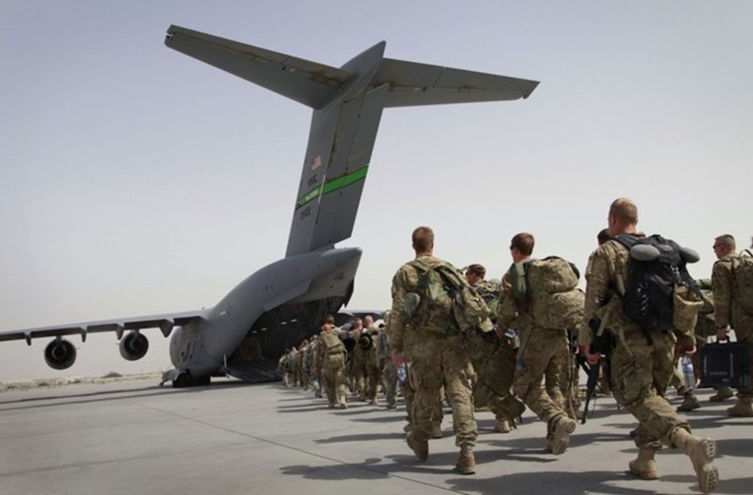 US exit from Afghanistan - The Frontier Post