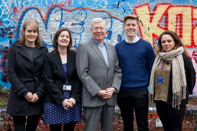 Big names team up to give social work a go