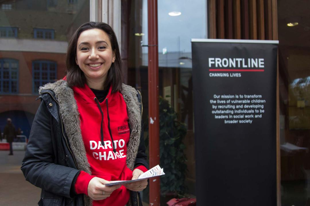 Josie promotes some of our opportunities for students and graduates on campus