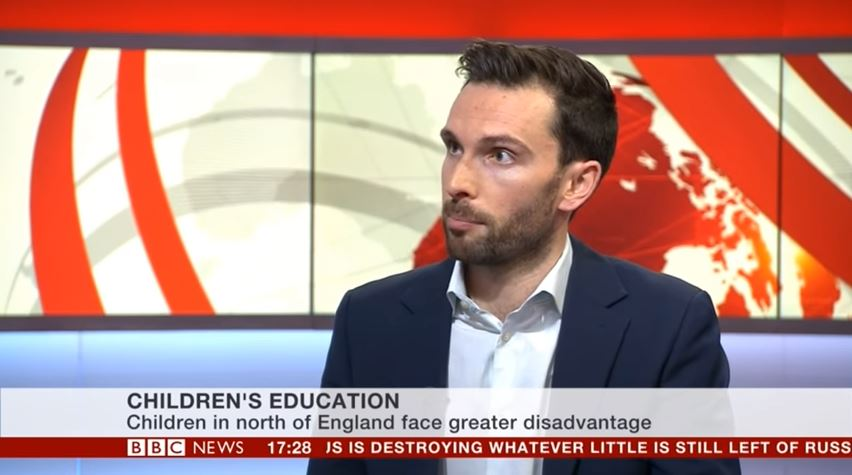 BBC News – The Children's Commissioner's Growing Up North Report
