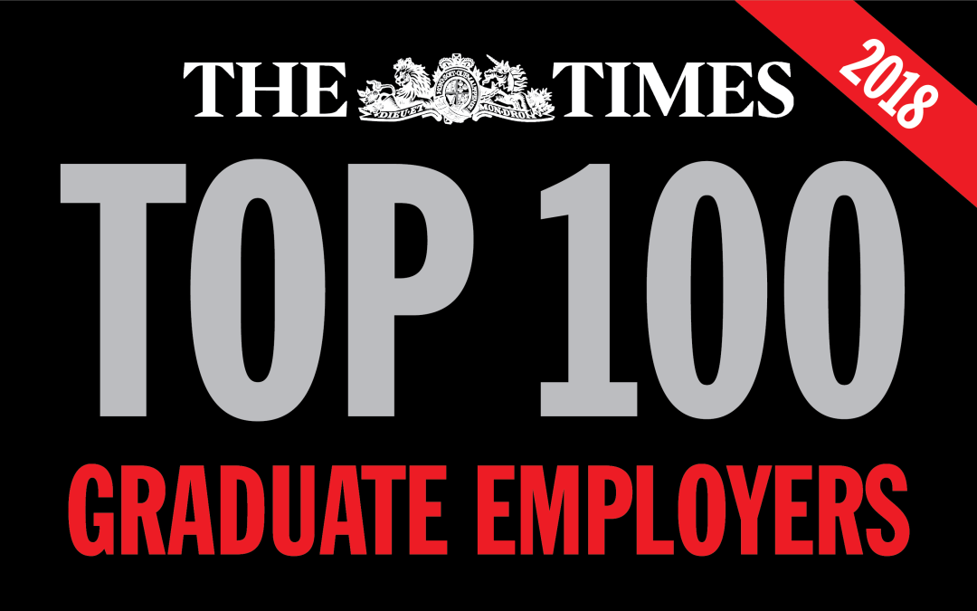 Frontline rises to 26 in The Times Top 100 list of graduate employers