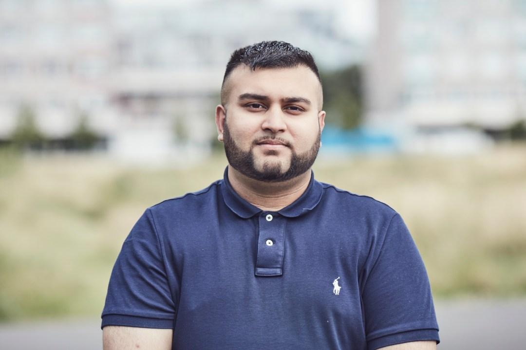 Frontline fellow, Rahim