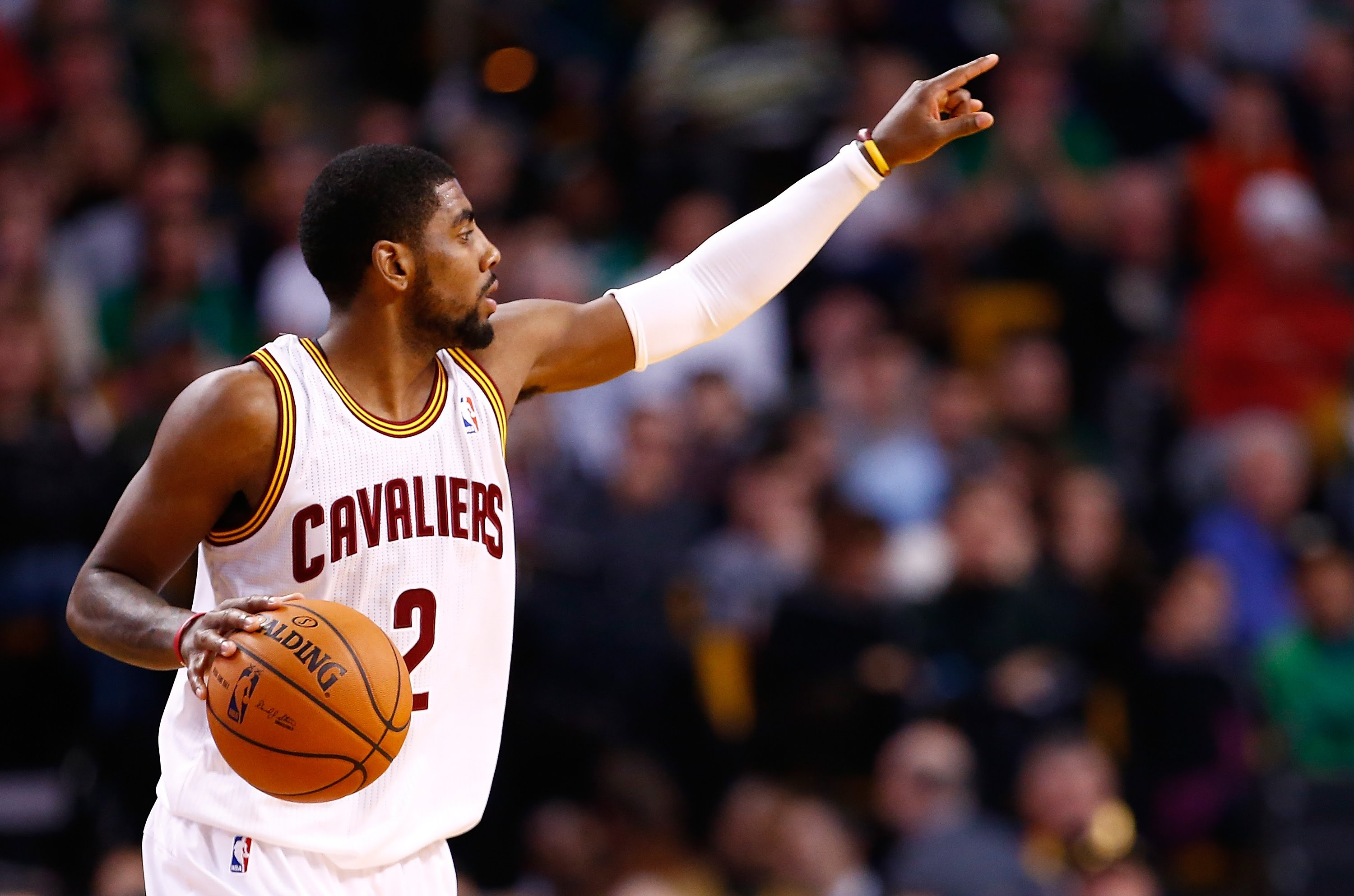 Watch Kyrie Irving Drop A Double Nickel Against The