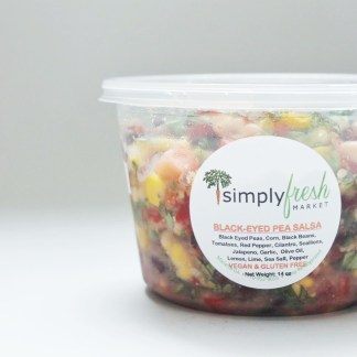 Simply Fresh's Black Eyed Pea Salsa