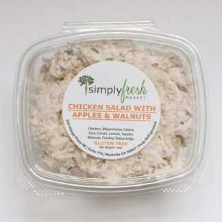 Simply Fresh's Chicken Salad with Apples and Walnuts