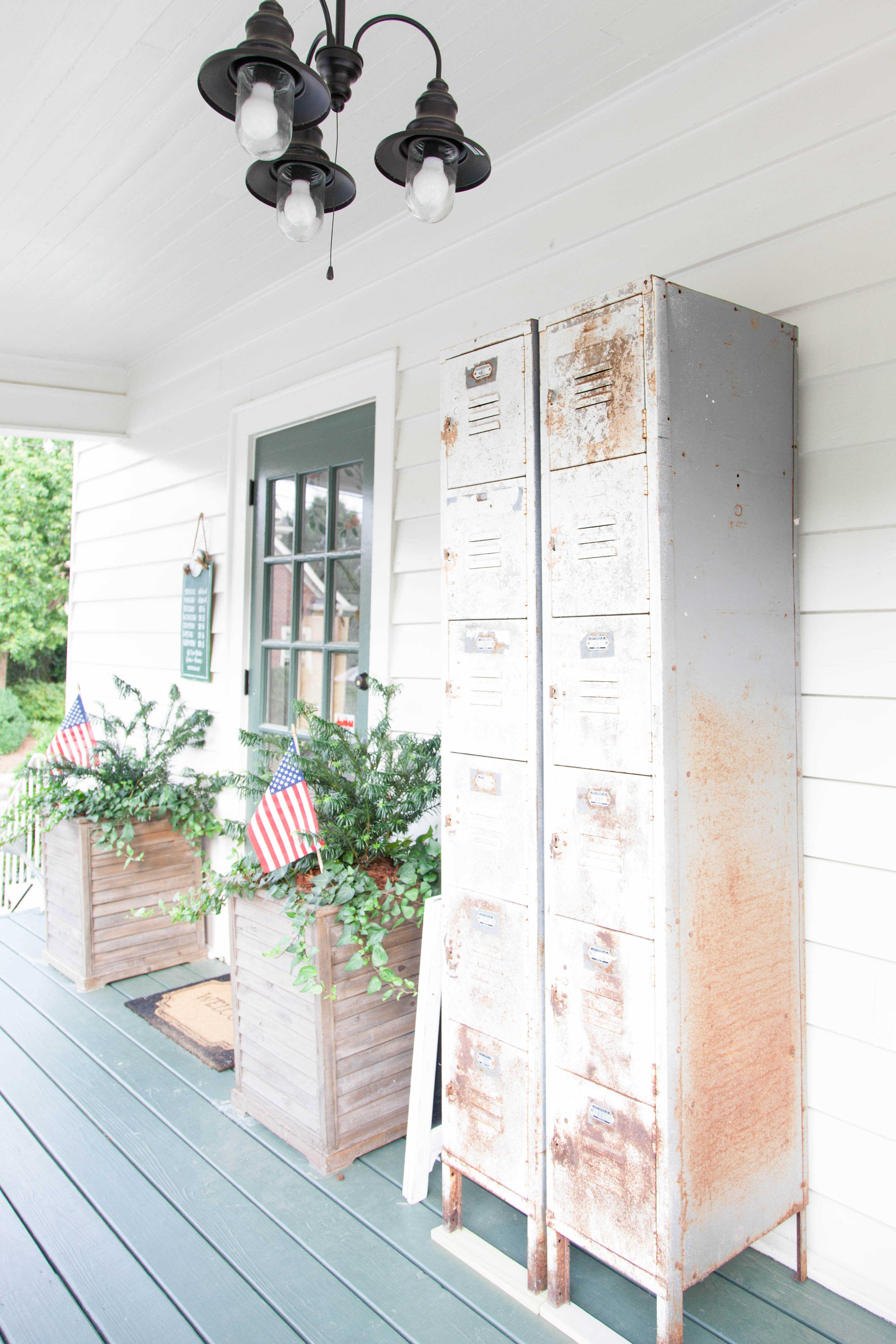 The Front Porch Market Lockers