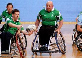 Wheelchair Rugby: Irish Wheelchair Rugby 7's Challenge Matches.