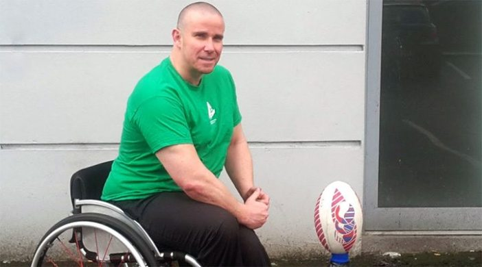 Ireland Wheelchair &'s athlete James McCarthy brings the FRU up to date on preparations for this years Six Nations Championship.
