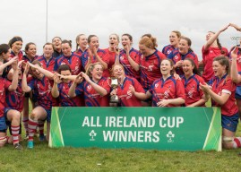 Women's All Ireland Cup: UL Bohemians 26 Blackrock 17
