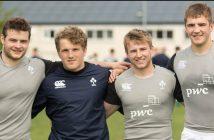 Ireland U20, Peter Cooper, Angus Curtis, Jonny Stewart, Marcus Rea