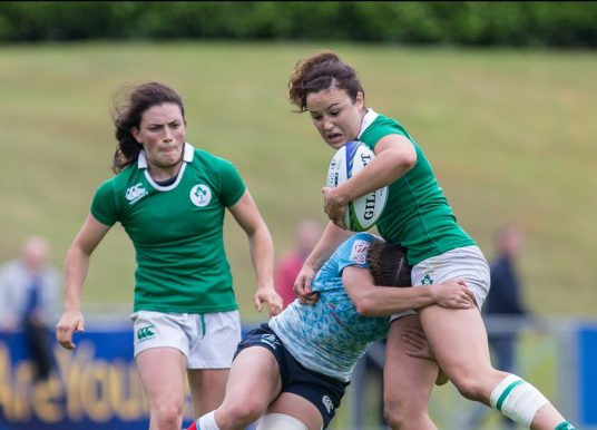 Ireland Women Sevens finish Langford Day 2 on a high