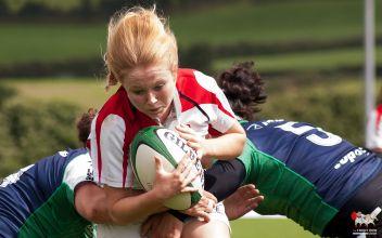 Try scorer Kathryn Dane