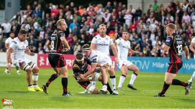 Ulster 29 -- Newport Gwent Dragons 8  (PRO12)