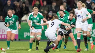 2017-03-17 Ireland Women v England Women (Six Nations) -- 24