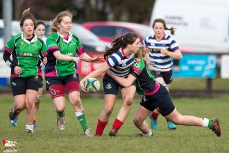 2017-01-08 Ballynahinch Women v Blackrock Women -- 55