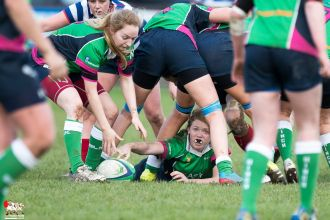 2017-01-08 Ballynahinch Women v Blackrock Women -- 59