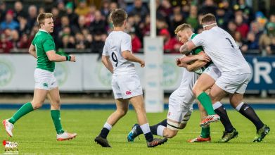 2017-03-17 Ireland U20s v England U20s (Six nations) -- 8