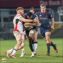 Ulster A v London Scottish, British and Irish Cup. Ravenhill 13t
