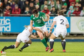 2017-03-17 Ireland Women v England Women (Six Nations) -- 39