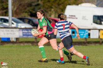 2017-01-08 Ballynahinch Women v Blackrock Women -- 34