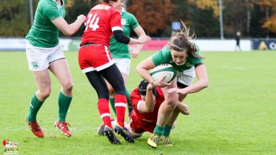 2016-11-19 Ireland Women v Canada Women. Autumn Series